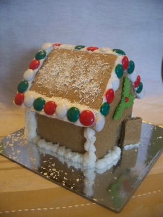Christmas gingerbread side