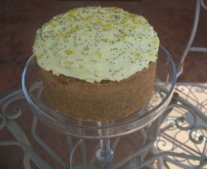 Orange & Poppyseed cake