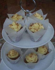 Carrot Cupcakes Mini