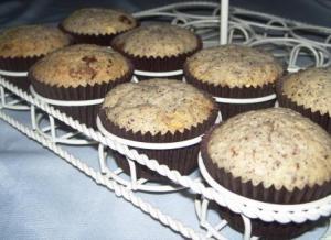 Gluten free chocolate hazelnut muffins